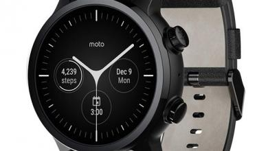 "Photo of ساعة ذكية جديدة لـ""موتورولا"" بمواصفات مميزة"