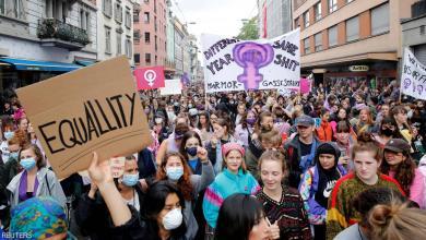 """Photo of """"صرخة"""" من السويسريات ضد العنف والتمييز"""