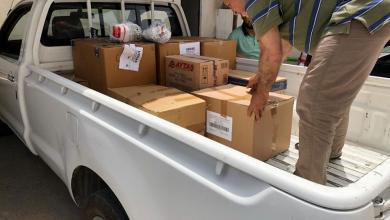 المؤسسة الوطنية للنفط ترسل بمساعدات طبية إلى مدينة سبها
