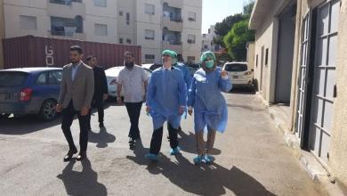 """Photo of جولة تفقدية لـ """"صنع الله"""" في مصحة النفط بــ """"طرابلس"""""""