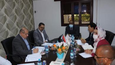 """صورة اجتماع """"عمل الوفاق"""" حول الاستثمار في الرأس المال البشري"""