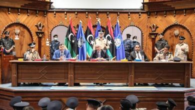 """صورة """"باشاغا"""" لـمسؤولي الداخلية: مؤسسات داخل الدولة تعرقل مشاريع الوزارة"""