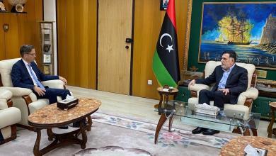 صورة السفير الألماني يبحث مع السراج والمشري المستجدات الليبية