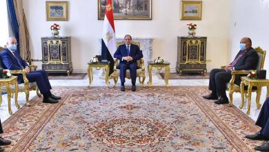 """Photo of السيسي: نسعى لملء """"فراغ السلطة"""" في ليبيا"""