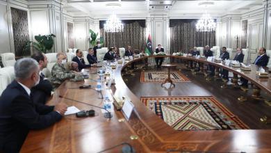 """صورة وفد تركي رفيع """"يُقلّب"""" ملفات ليبيا على طاولة """"الرئاسي"""""""