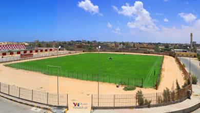 Photo of ملعب نادي السويحلي يصل لمراحل الصيانة الأخيرة