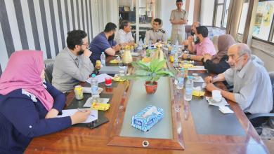 """صورة """"اجتماع طارئ"""" في المرج بشأن الوضع الصحي بالمدينة"""