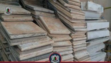 "Photo of ""أمن بنغازي"" تقبض على مُتهم بسرقة منازل وشركات بناء"