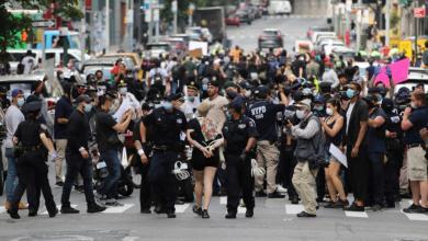 """صورة صراع """"ديمقراطي جمهوري"""" على قانون إصلاح الشرطة"""