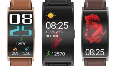 Photo of ساعة ذكية جديدة بشاشة منحنية وبطارية قوية