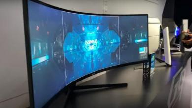 Photo of جديد سامسونغ.. شاشة منحنية للمصممين وعشاق الألعاب