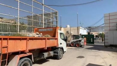 Photo of الاتحاد المصراتي يُطلق حملة لتنظيف مرافق النادي