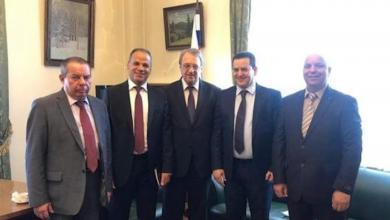 """صورة حومة: روسيا أكدت دعمها لـ""""إعلان القاهرة"""""""