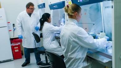 """صورة باحثون بريطانيون يكتشفون """"طوق النجاة"""" من فيروس كورونا"""