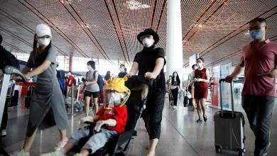 صورة كورونا .. يربك المواصلات وحركة الطيران في الصين