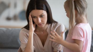 صورة مزاجكِ السيئ يؤثر على صحة طفلكِ أكثر مما تعتقدين