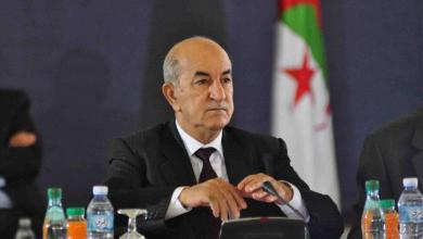 صورة تبون: هناك أطراف تريد جرّ الجزائر إلى الصراع في ليبيا