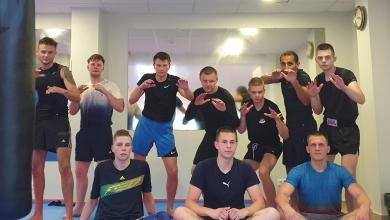 صورة الورفلي يفتتح أكاديمية للفنون القتالية في ليتوانيا