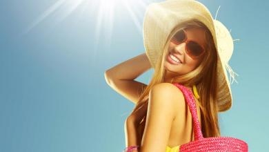 صورة احمي شعرك من أشعة الشمس بوصفة الألوي فيرا والخميرة