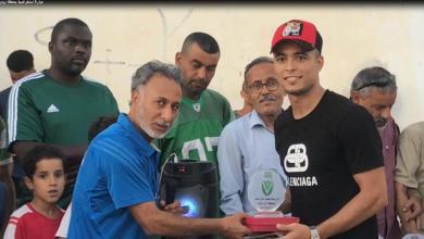 "Photo of ""ازواوة البحيرة"" تُكرّم لاعبي النصر المُتوجين بلقب الممتاز"