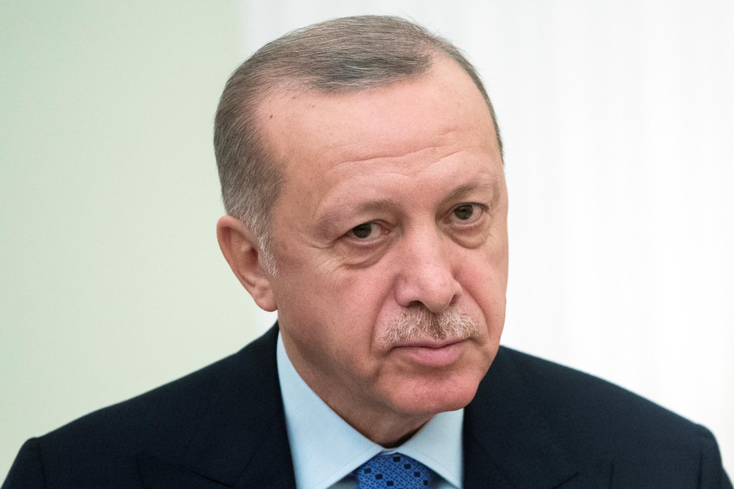 الرئيس التركي رجب الطيب أردوغان