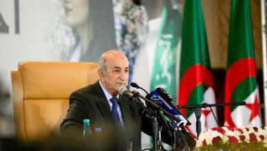 """صورة تبون: محاولة إقحام القبائل الليبية لحمل السلاح """"شيء خطير"""""""