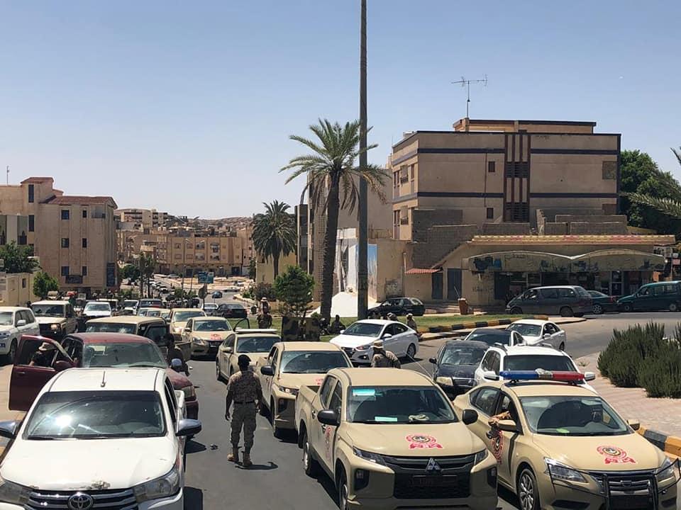 القوة المشتركة تُسيّر دوريات في ترهونة وجنوب طرابلس