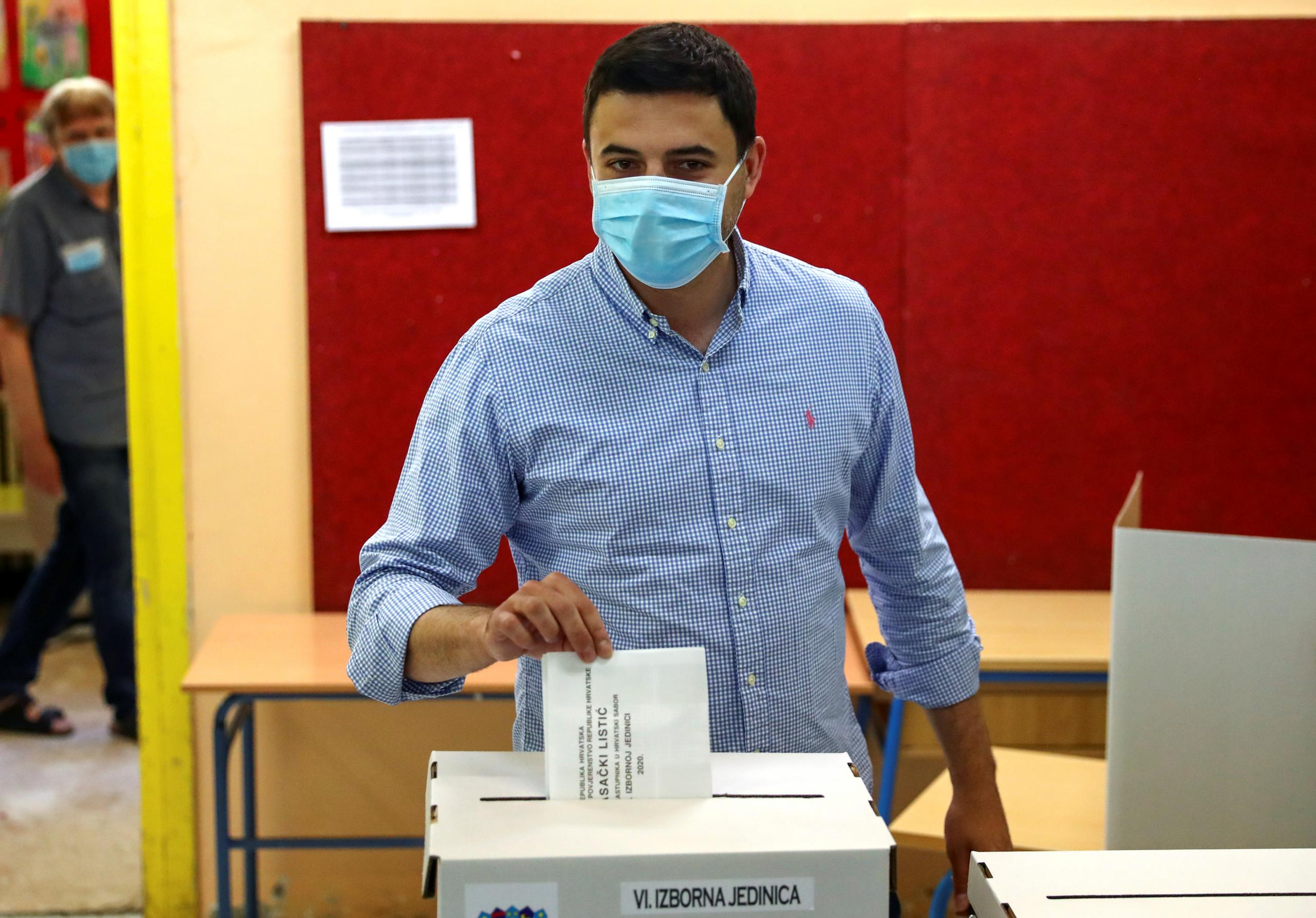انتخابات برلمانية في كرواتيا