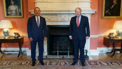 Photo of توافق تركي بريطاني بضرورة الحل السياسي في ليبيا