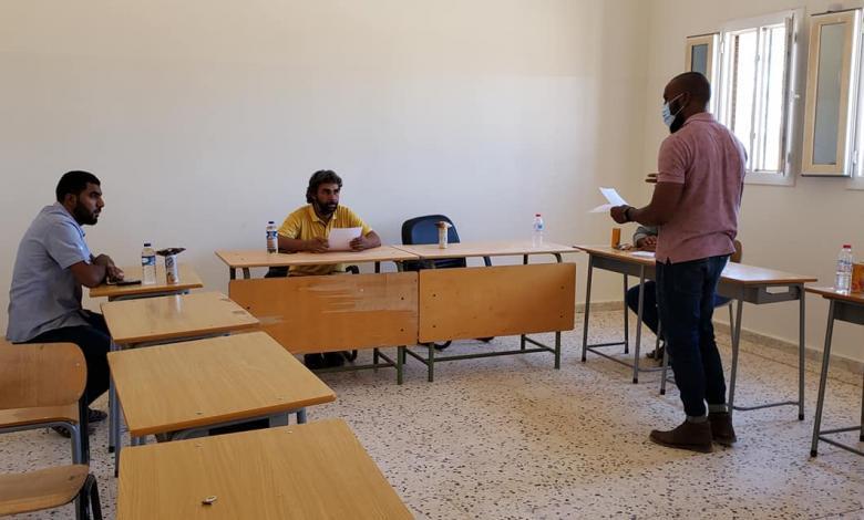 Photo of دورة تدريبية لرجال السلامة الوطنية في سمنو