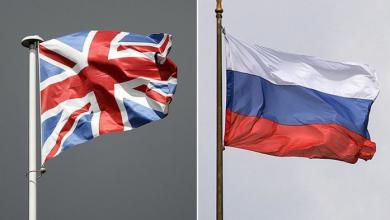 صورة توتر جديد في العلاقات البريطانية الروسية