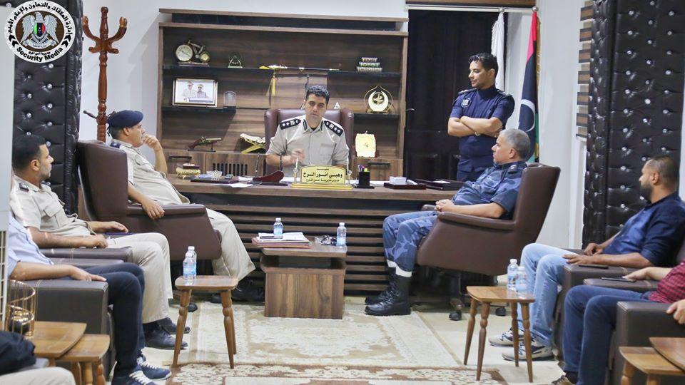 مديرية أمن المرج تضع خطتها لتأمين المدينة وضواحيها أيام عيد الأضحى