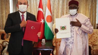 Photo of تركيا توقع اتفاقية عسكرية مع النيجر