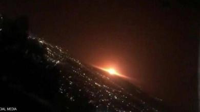 Photo of انفجار ضخم يهز مبنى سكنياً وسط طهران