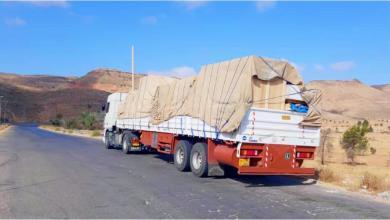"""Photo of """"صحة الوفاق"""" تدعم سبها بشحنة طبية جديدة"""