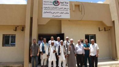 Photo of أعيان وحكماء ورشفانة يزورونمكتب الطب الشرعي بالزهرة