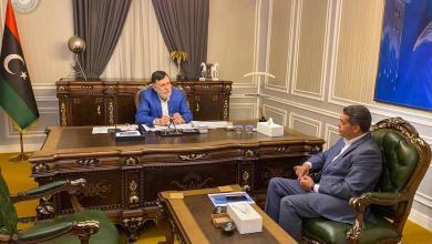 """Photo of """"الانتخابات"""" على طاولة السراج والسائح"""