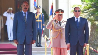 Photo of السيسي يبحث التعاون العسكري والأمني مع إريتريا