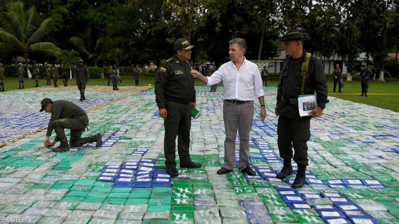 """كولومبيا ومحاربة تهريب الكوكايين -""""أرشيفية"""""""