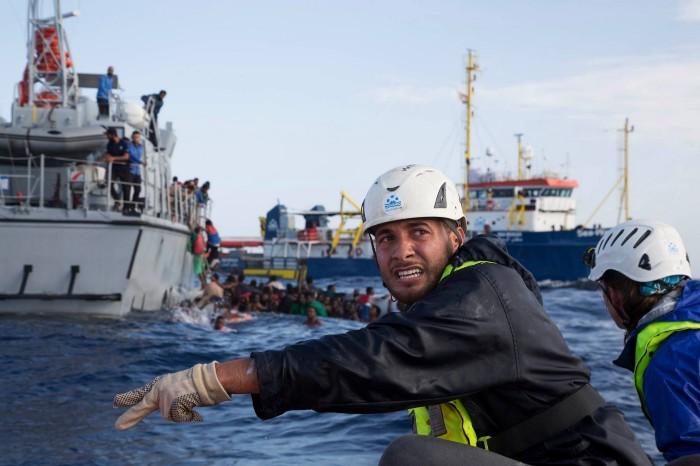 تقرير إيطالي حول تمويل خفر السواحل الليبي