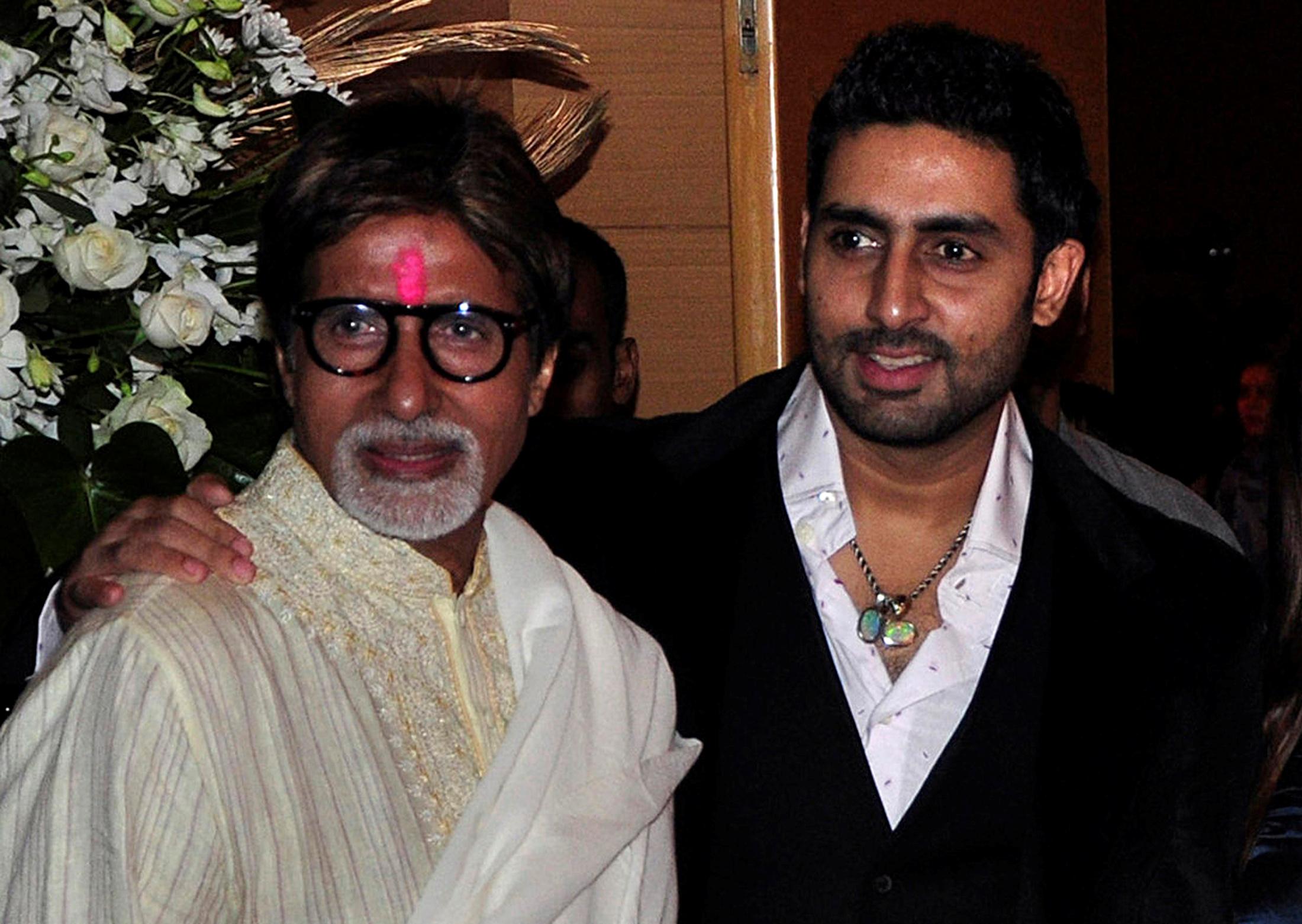 """النجم الهندي السينمائي """"أميتاب باتشان"""" وابنه الممثل ابهيشيك باتشان ينضمان للمصابين بكورونا"""