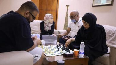 صورة المنتخب الوطني للشطرنج ثانياً في أولمبياد العالم