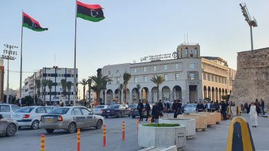 """صورة حصر المقيمين الأجانب في """"طرابلس المركز"""""""