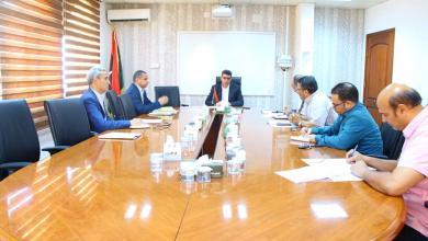 Photo of ديوان المحاسبة يدرس خُطط عمل المؤسسة الليبية الاستثمار