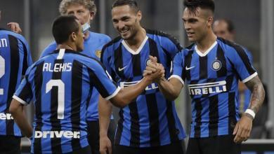 صورة الإنتر يعبر تورينو ويصعد لوصافة الدوري الإيطالي