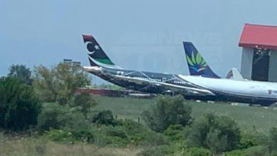 "Photo of الطائرة الليبية المحتجزة في فرنسا ""قضية معلقة"""