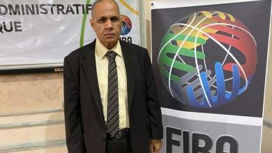 صورة الفاخري يُمثّل ليبيا في اجتماع الاتحاد الأفريقي لكرة السلة