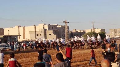 Photo of عُرس شعبي في بنغازي بطقوس تراثية بحتة.. شاهد