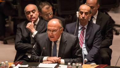 صورة شكري يبحث مع نظيريه الفرنسي والألمانى الملف الليبي