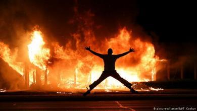صورة سقوط قتلى في احتجاجات ويسكونسن الأميركية